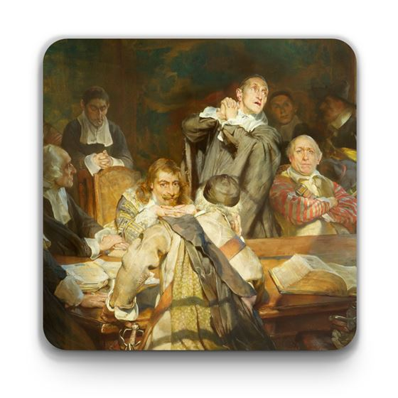 Edgar Bundy 'The Puritans' coaster