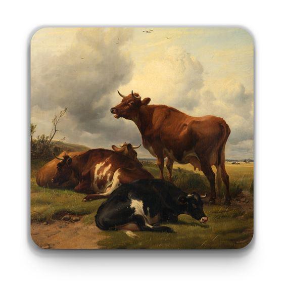 Thomas Sidney Cooper 'Cattle' coaster
