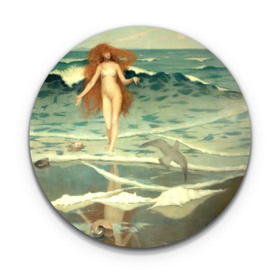 William Stott 'Venus Born of the Sea Foam' coaster