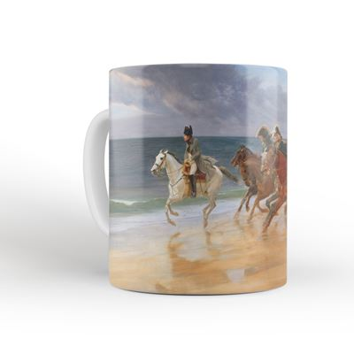 Andrew Carrick Gow 'Napoleon on the Sands at Boulogne, France' mug