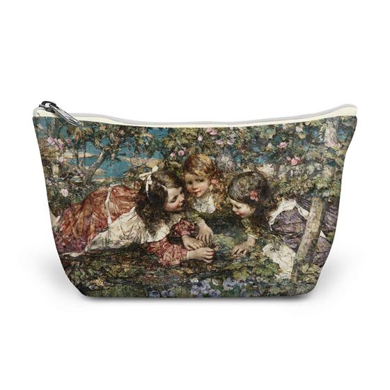 E. A. Hornel 'A Summer Idyll' make-up bag