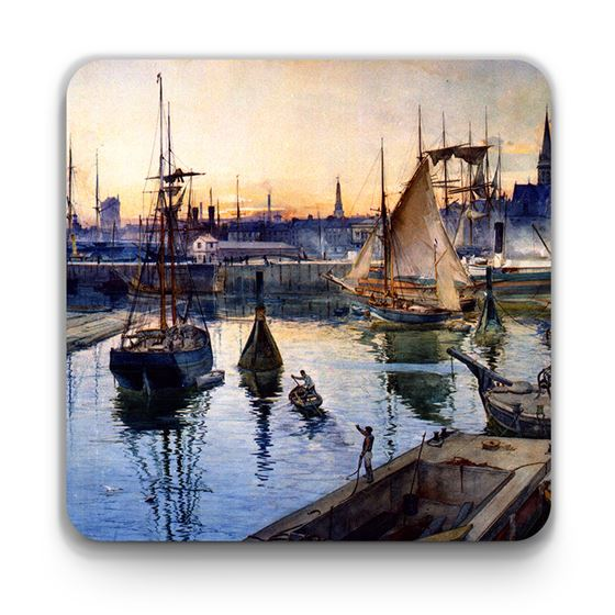 James Douglas 'Dundee (Dundee from the Harbour)' coaster
