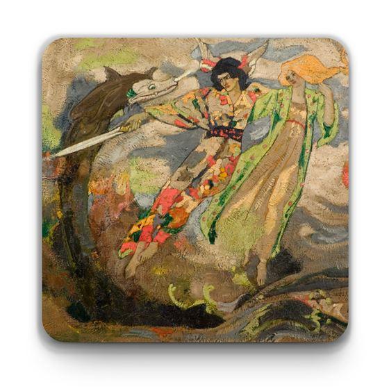 John Duncan 'The Glaive of Light' coaster