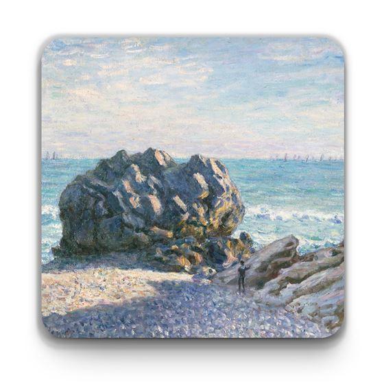 Alfred Sisley 'Storr Rock, Lady's Cove, Le Soir' coaster
