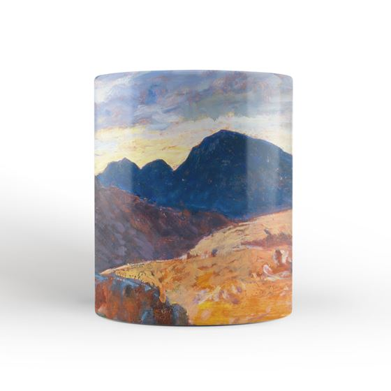 Christopher Williams 'Sunset in the Welsh Hills' mug
