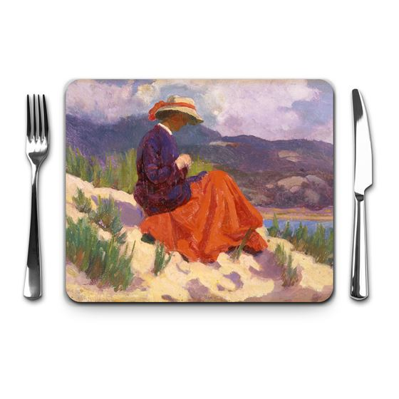 Christopher Williams 'The Red Dress' placemat