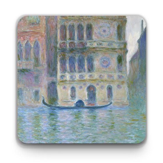 Claude Monet 'The Palazzo Dario' coaster