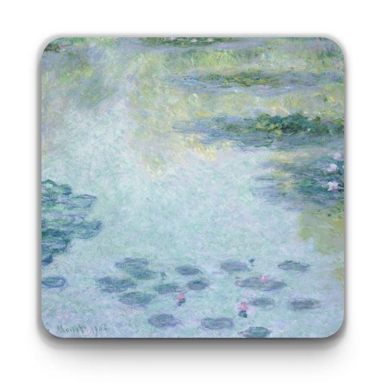 Claude Monet 'Waterlilies' (1906) coaster