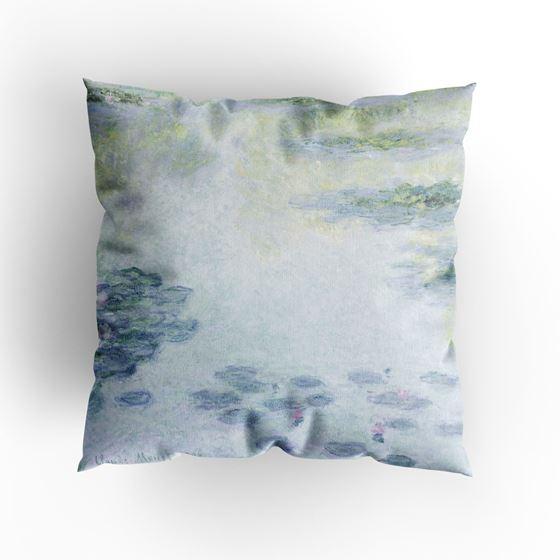 Claude Monet 'Waterlilies' (1906) cushion