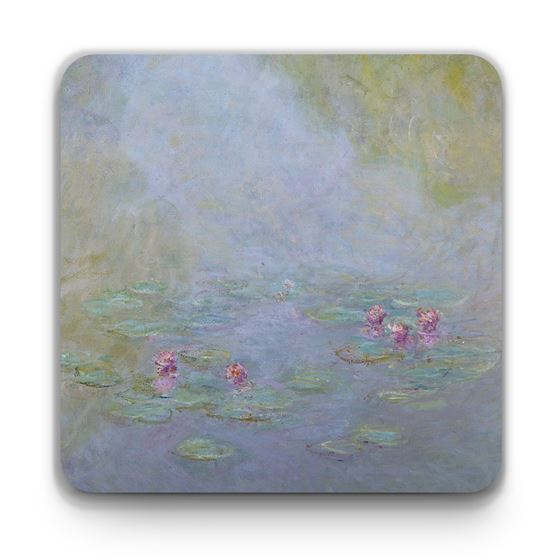 Claude Monet 'Waterlilies' (1908) coaster