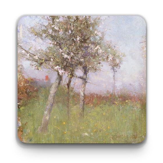George Clausen 'Apple Blossom' coaster