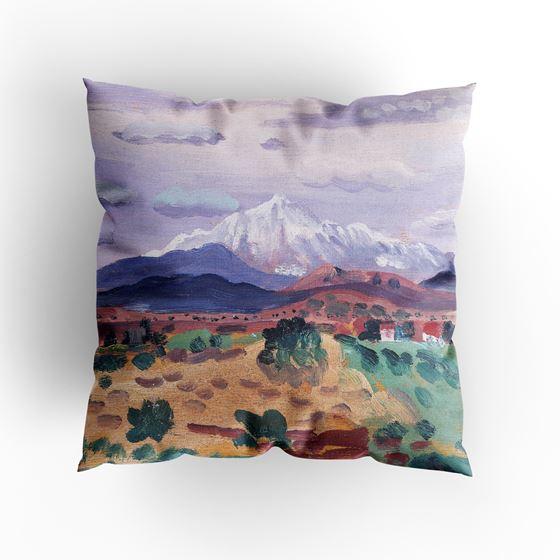 James Dickson Innes 'Canigou in Snow' cushion