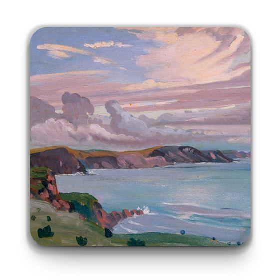 James Dickson Innes 'Pembroke Coast' coaster