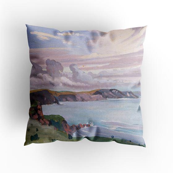 James Dickson Innes 'Pembroke Coast' cushion