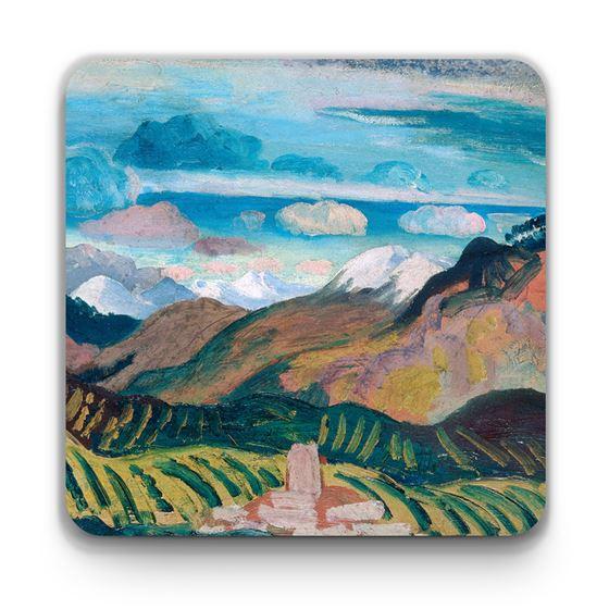 James Dickson Innes 'Vernet (Provençal Landscape)' coaster