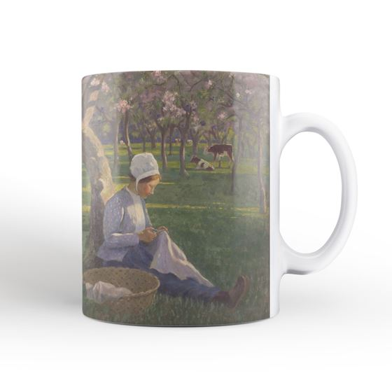Janet C. Fisher 'In the Orchard' mug