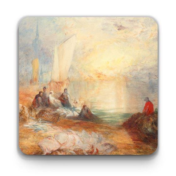 J. M. W. Turner 'Sunset' coaster