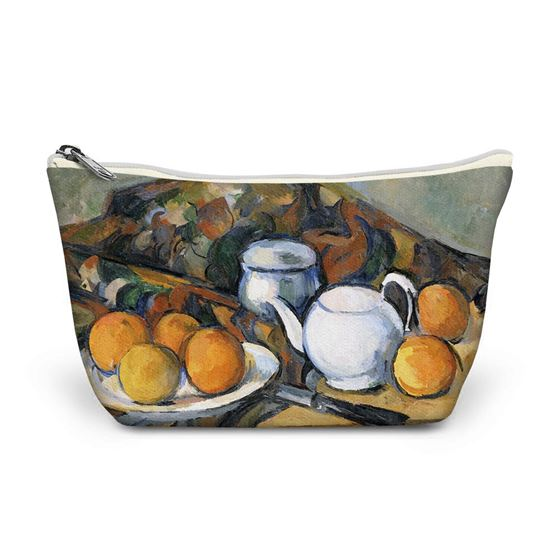 Paul Cézanne 'Still Life with a Teapot' make-up bag