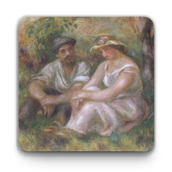 Pierre-Auguste Renoir 'Conversation' coaster