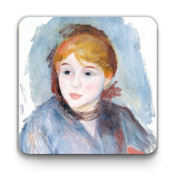 Pierre-Auguste Renoir 'Young Girl in Blue' coaster