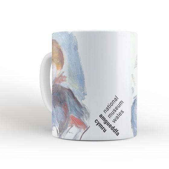 Pierre-Auguste Renoir 'Young Girl in Blue' mug