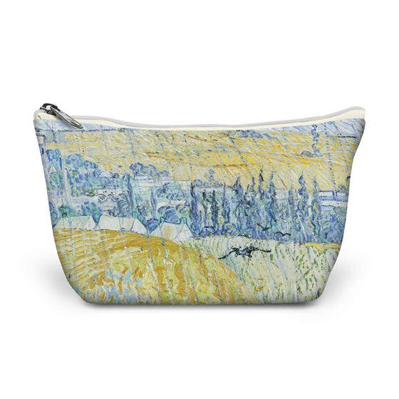 Vincent van Gogh 'Rain, Auvers' make-up bag