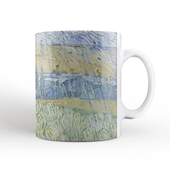 Vincent van Gogh 'Rain, Auvers' mug