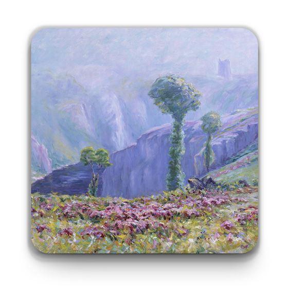 Wynford Dewhurst 'Summer Mist, Valley of La Creuse' coaster