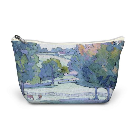 Robert Polhill Bevan 'Maples at Cuckfield, Sussex' make-up bag
