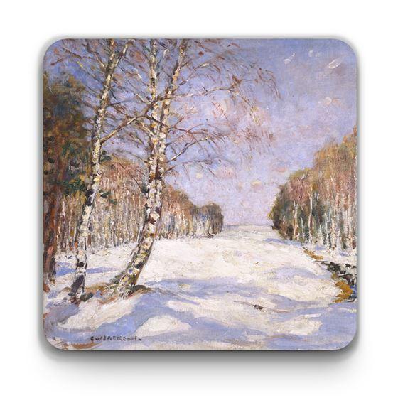 Frederick William Jackson 'Shadows on the Snow' coaster