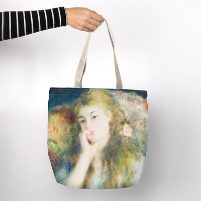 Pierre-Auguste Renoir 'Young Woman Seated' shopper