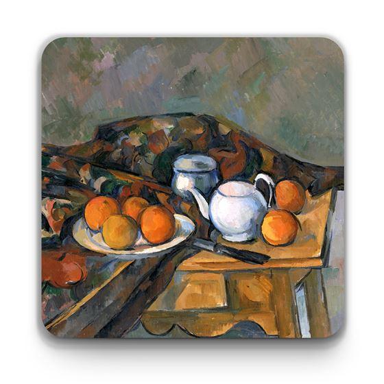 Paul Cézanne 'Still Life with a Teapot' mug and coaster