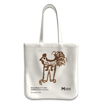 'The Chicken in Trousers' tote bag