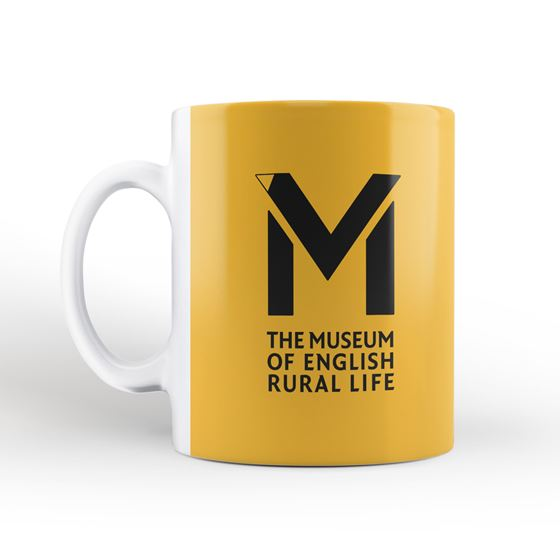 'The Absolute Unit' mug and coaster – yellow