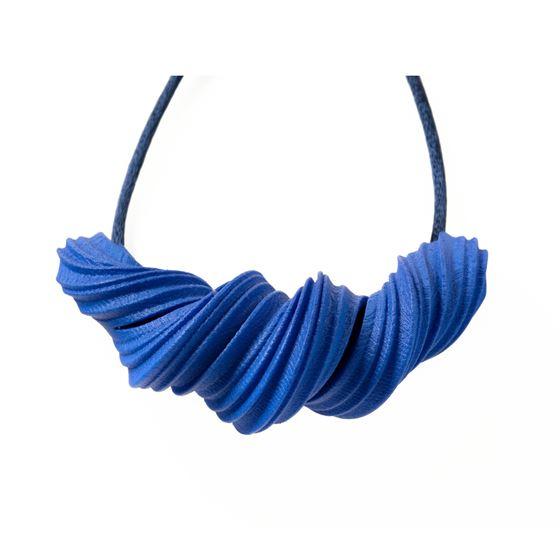 Lynne MacLachlan 'Peplos' necklace – deep blue