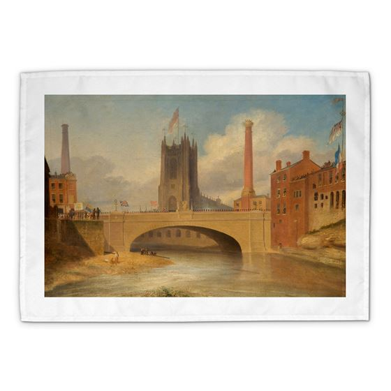 James Parry 'Victoria Bridge, Salford' tea towel