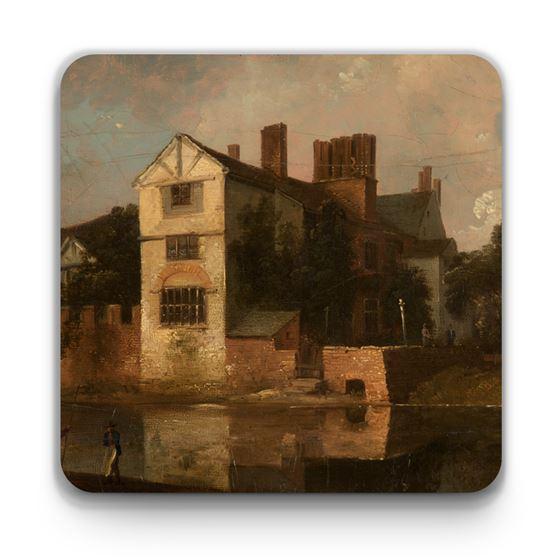 John Ralston 'Ordsall Hall, Salford' coaster