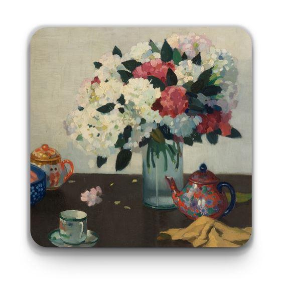 Adolphe Valette 'Still Life' coaster