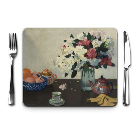 Adolphe Valette 'Still Life' placemat