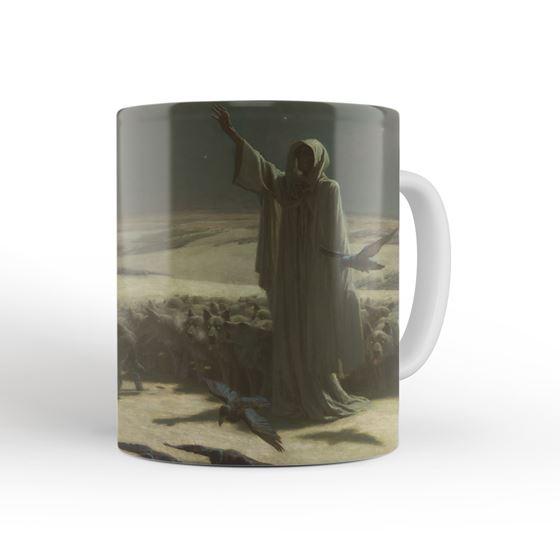 John Charles Dollman 'Famine' mug