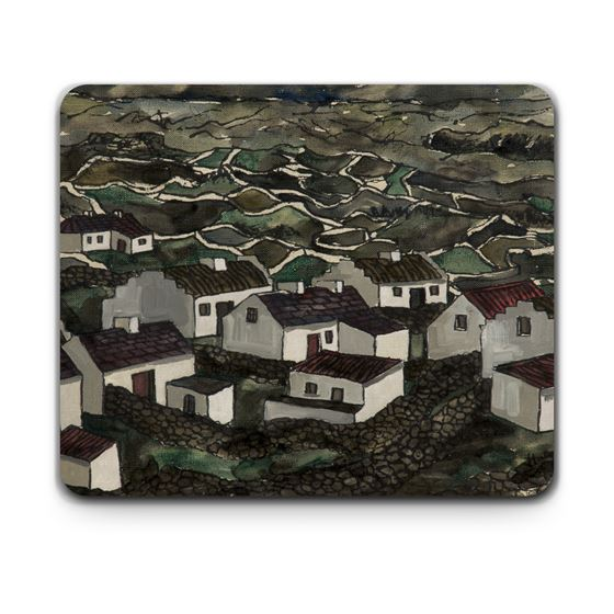 Kenneth Hall 'Bungalows, Isle of Arran' placemat