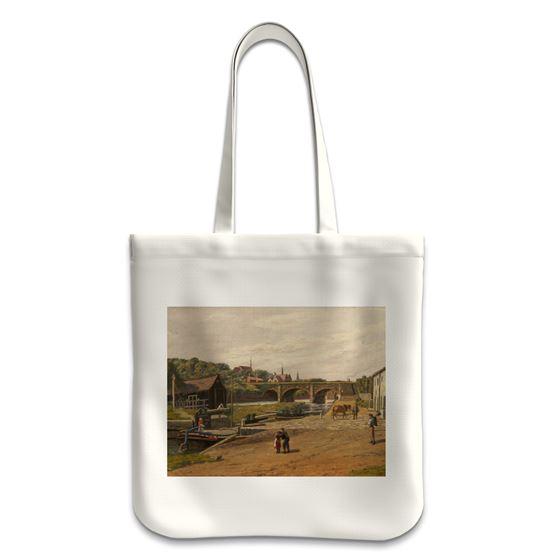 William Worthington Jolley 'Barton Lock' tote bag
