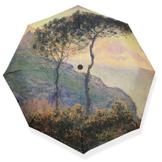 Claude Monet 'The Church at Varengeville' umbrella