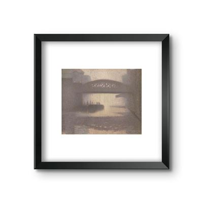 Windsor Bridge on the Irwell - framed print