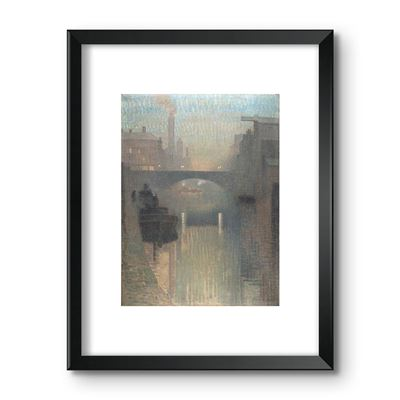 Bailey Bridge, Manchester - framed print