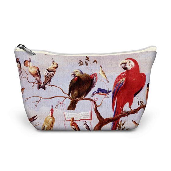 Jan van Kessel the elder 'A Chorus of Birds' make-up bag