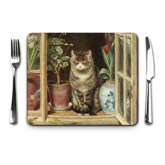 Ralph Hedley 'Blinking in the Sun' placemat