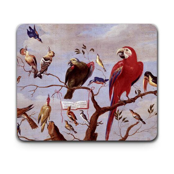 Jan van Kessel the elder 'A Chorus of Birds' placemat