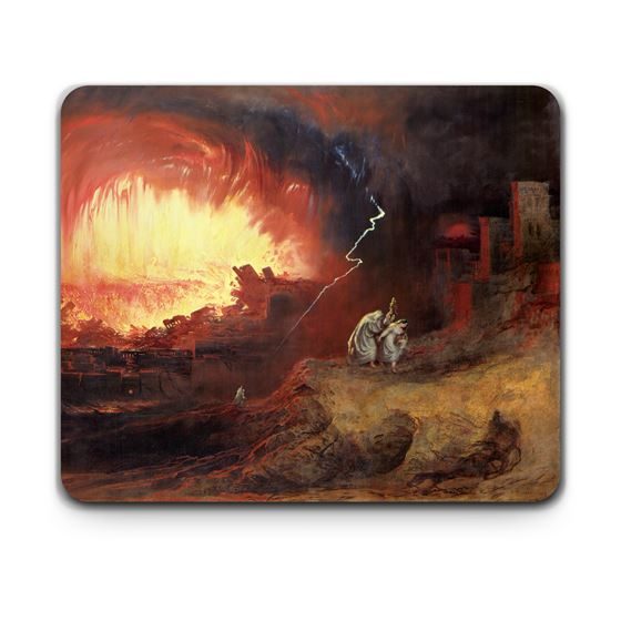John Martin 'The Destruction of Sodom and Gomorrah' placemat