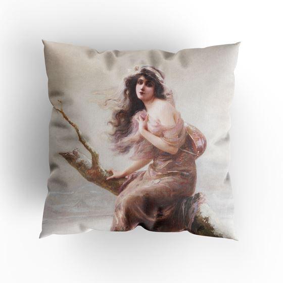 Edouard Bisson 'Winter' cushion